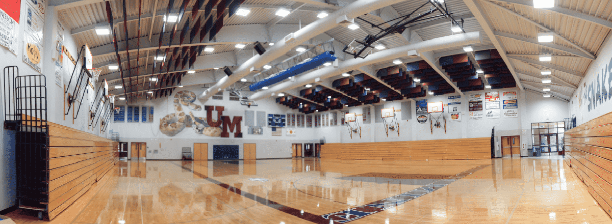 Union Mine high school led retrofit application image